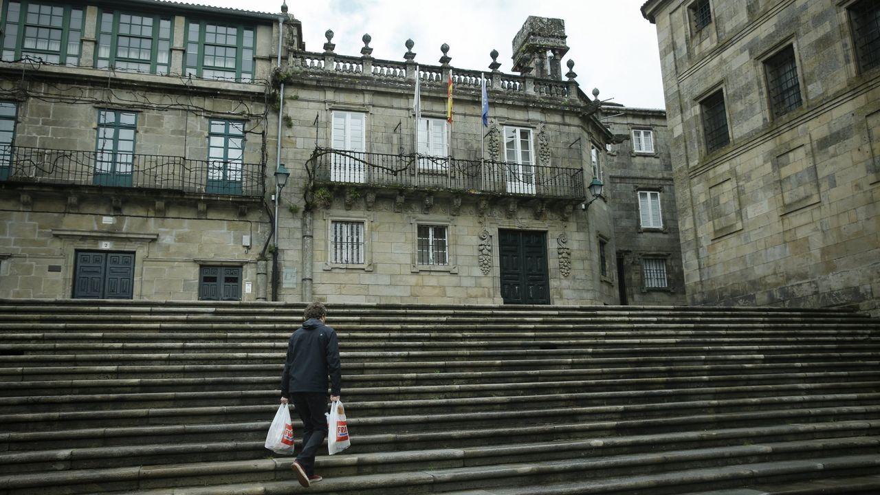 A Casa da Parra é unha das obras de Domingo de Andrade en Santiago