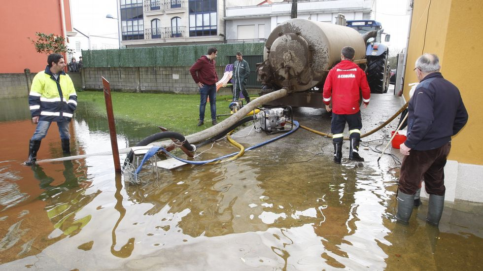 Inundaciones en Ponteceso