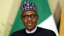 El presidente nigeriano, Muhammadu Buhari
