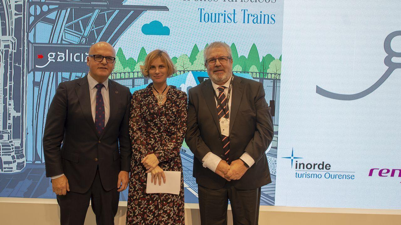 Baltar participó en la presentación de los trenes turísticos