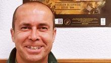 El teniente coronel Jesús Gayoso, de 48 años, que falleció este viernes a causa del coronavirus