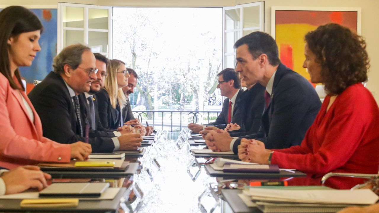 Gonzalo Caballero, Patricia Otero., Pablo Arangüena y Marina Ortega