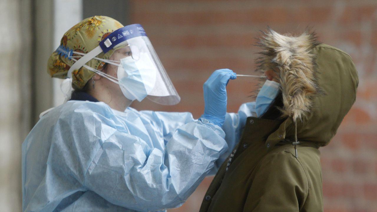 Ingreso de un posible caso de coronavirus en el Marcide.