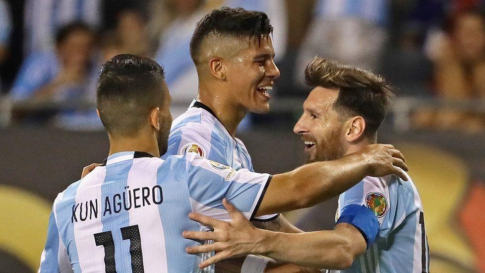 Seis recuerdos en forma de árbol.Messi, con la selección argentina