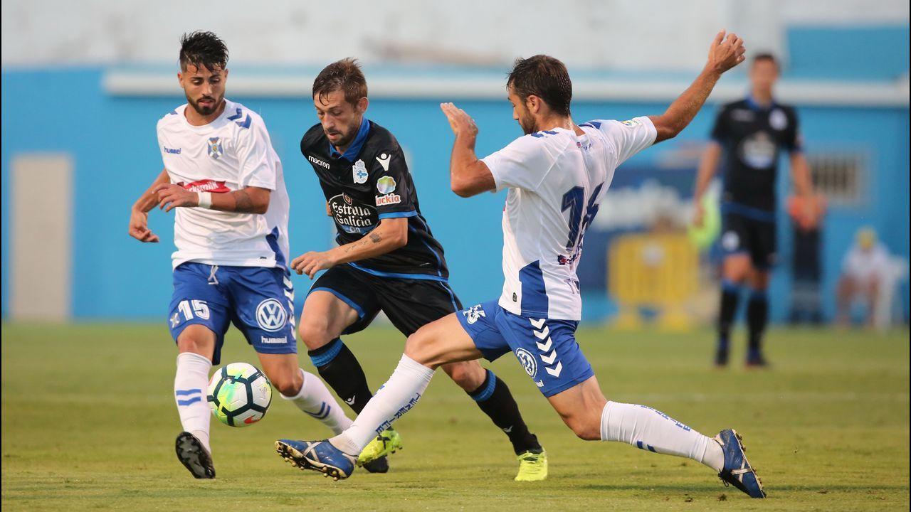 Las mejores imágenes del Tenerife - Deportivo
