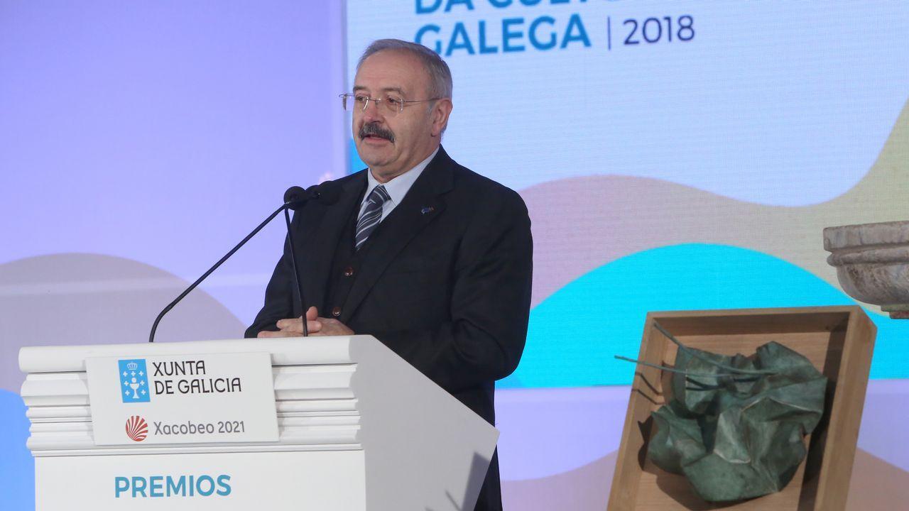 Ramón Villares, no acto de Montederramo