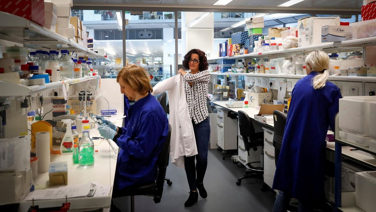 Patricia Barral, una científica especializada en inmunología y que está a cargo de su laboratorio en el Instituto Francis Crick de Londres
