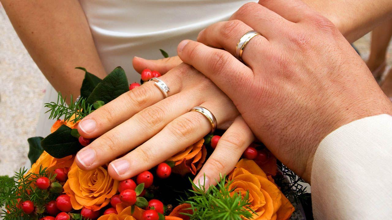 boda, ceremonia, anillos,