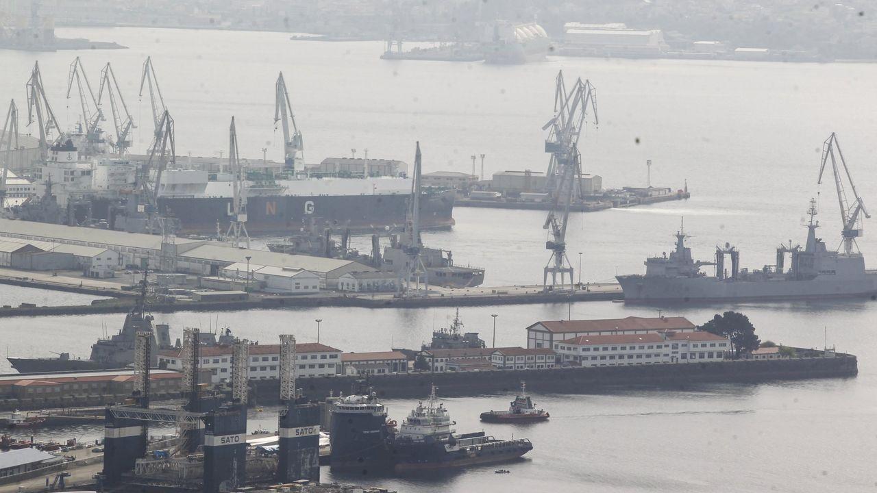 Los comités consideran que el nuevo dique seco es fundamental para garantizar la competitivdad de los astilleros