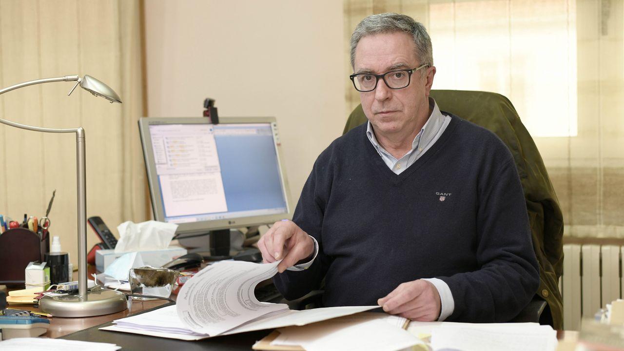 Así es Norbert Feher, alias Igor el Ruso.Francisco José Lago Calvo, abogado de la Fundación Amigos de Galicia
