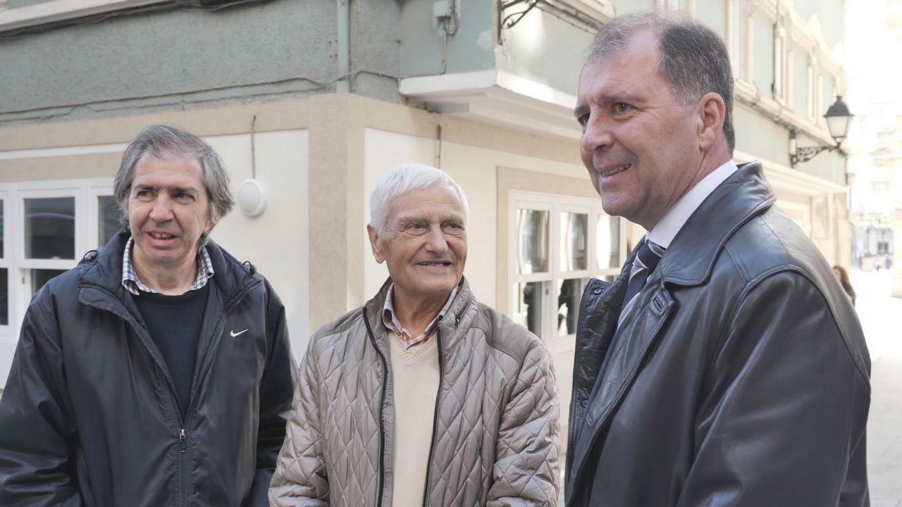 Reencuentro tras Mauthausen: «El morreu nos brazos de meu pai».Jeff King y Claudia Weber están instalados en Galicia. Fotos de Samuel Aranda para el The New York Times
