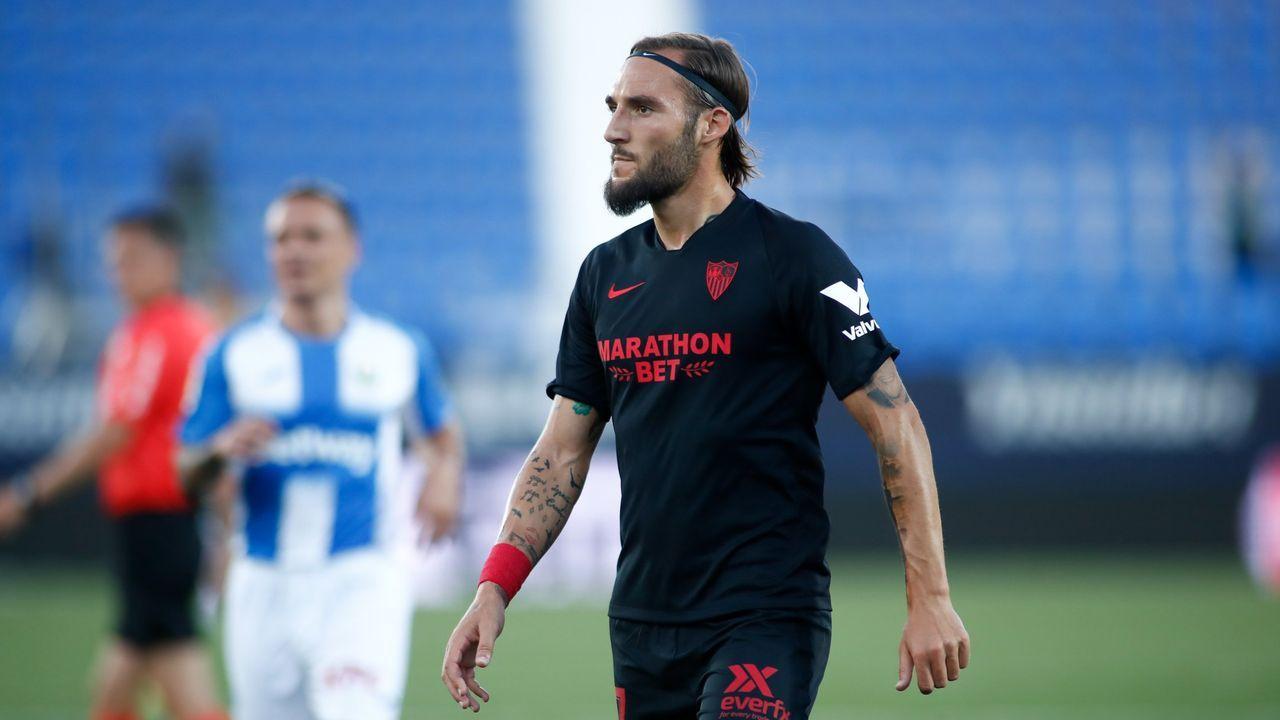 Turistas en Lugo, seguros ante el covid-19.Darwin Núñez celebra su gol en el Almería-Extremadura