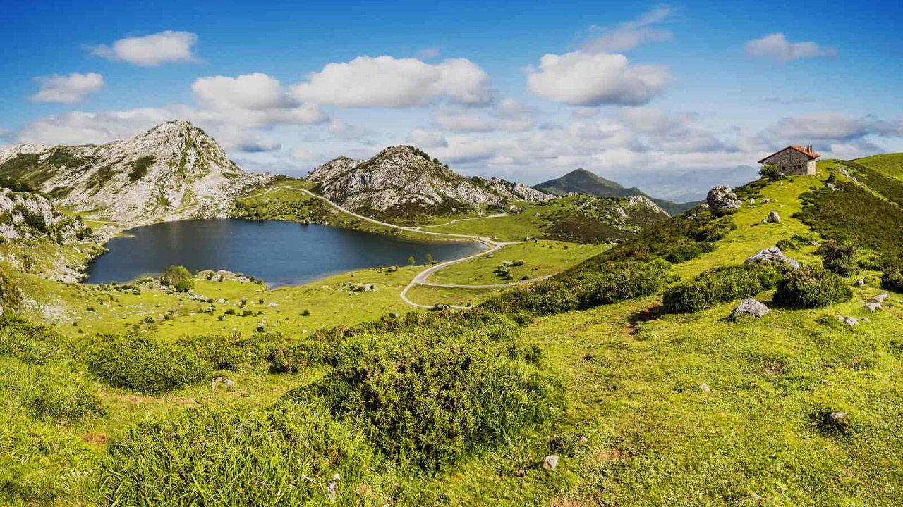 Lagos de Covadonga, en Asturias