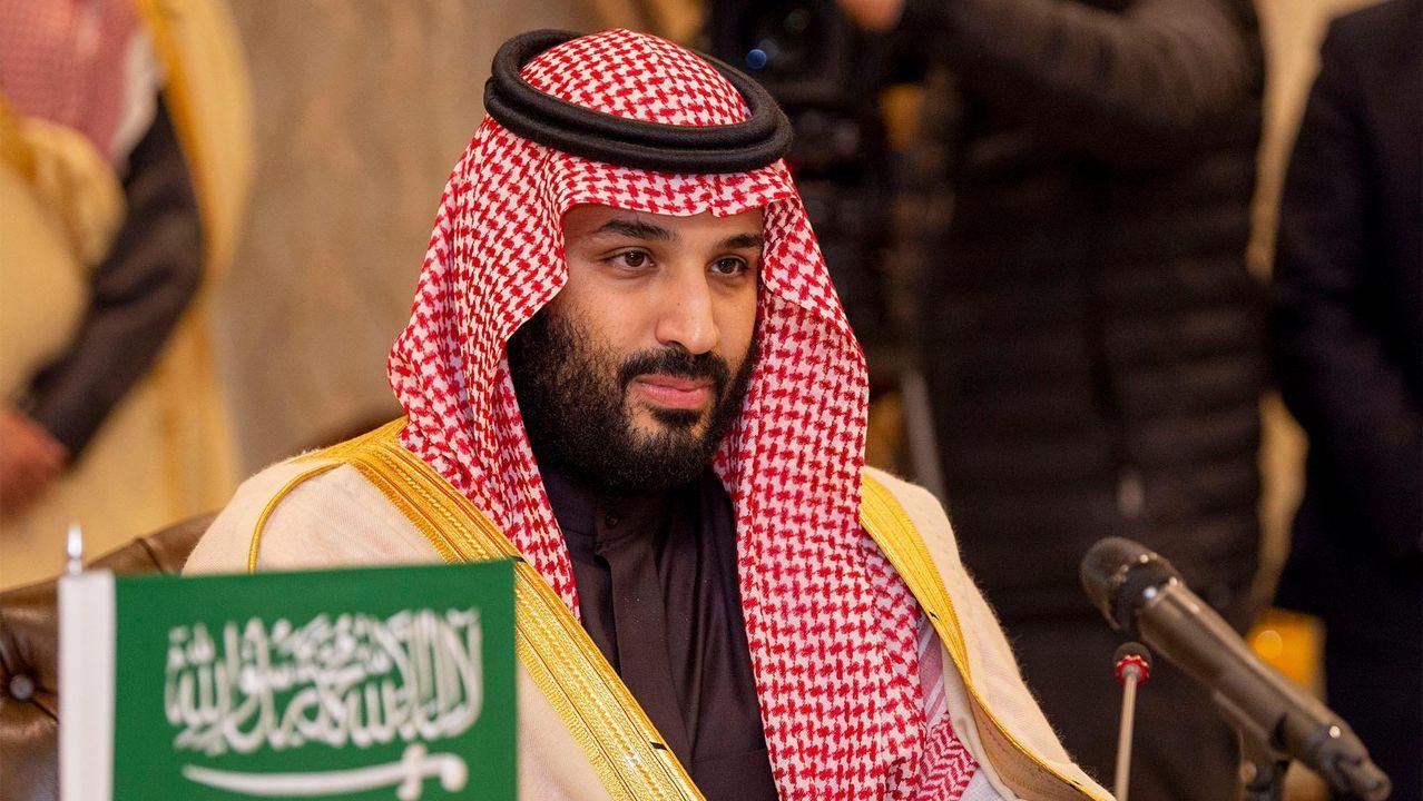 El príncipe heredero del reino saudí, Mohamed bin Salmán, en una imagen de febrero del 2019