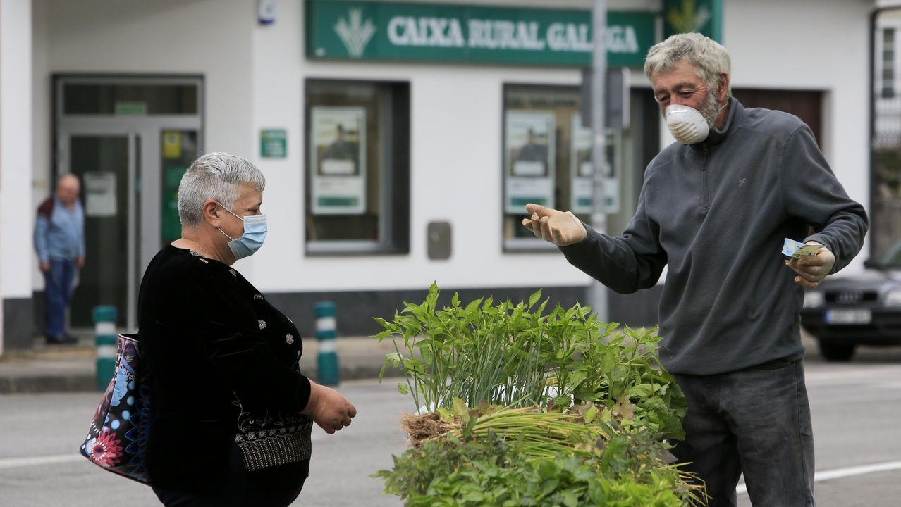 Castro Ribeiras de Lea recupera su feria