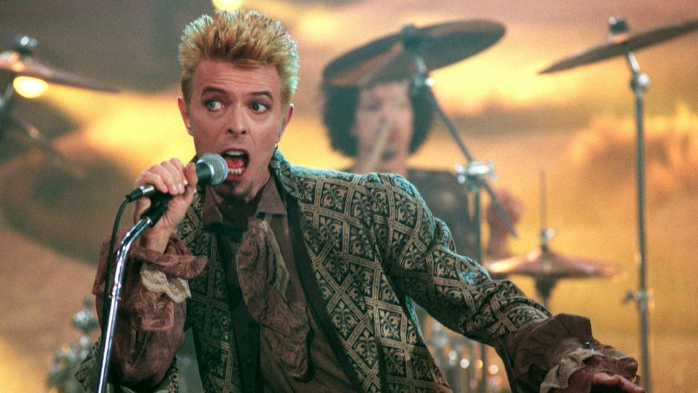 El cantante en una actuación en la televisión alemana en 1997.
