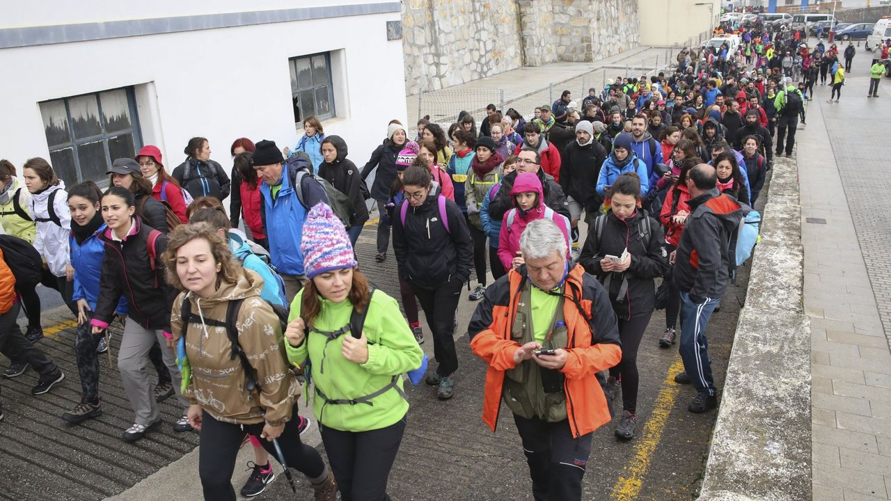 Las nueve rutas ciclistas por la montaña de Lugo.Florentino Taín, en el rocódromo municipal de Os Remedios.