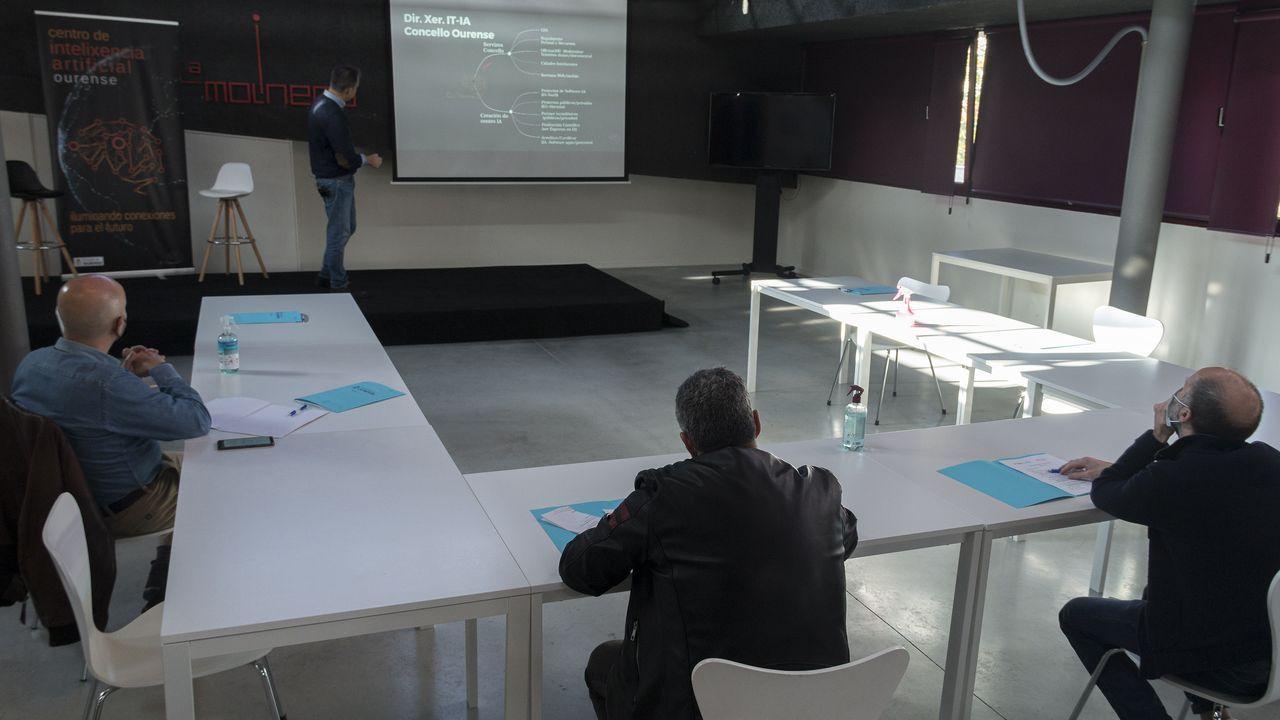 Presentación del centro de inteligencia artificial para la oposición
