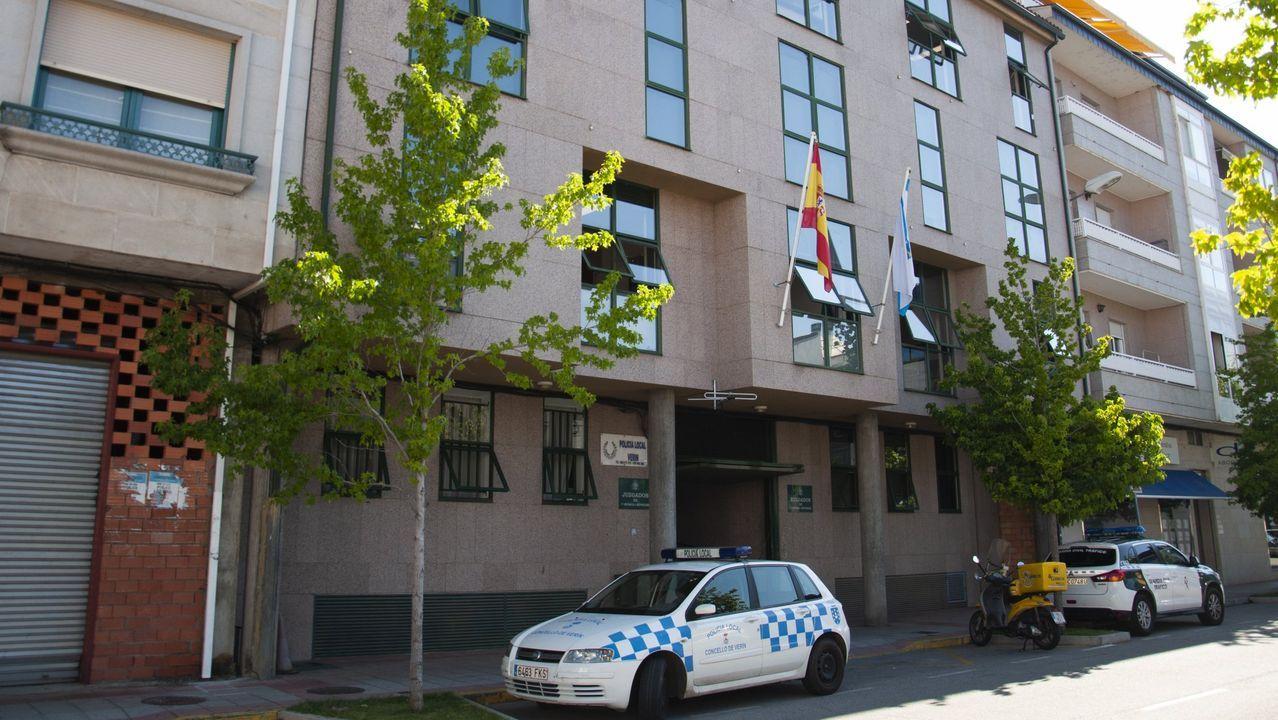 Otra condena a la «Manada» por los abusos sexuales de Pozoblanco.Un coche de la Policía Nacional, en una imagen de archivo