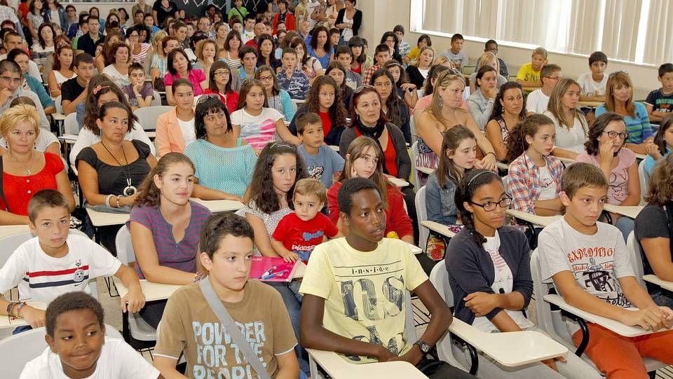 El primer día de clase en Educación Secundaria en Galicia