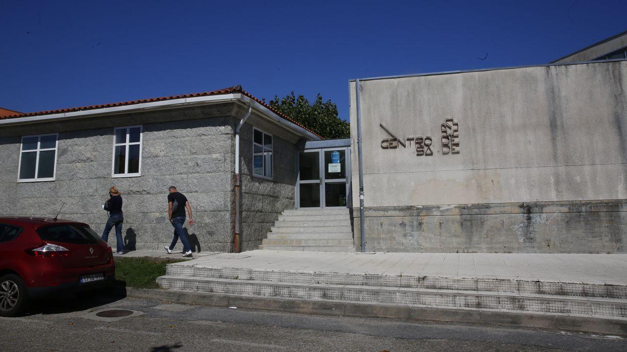El centro de salud y el PAC de Baltar, en Sanxenxo, es uno de los que soporta más sobrecarga de toda el área sanitaria de Pontevedra y O Salnés