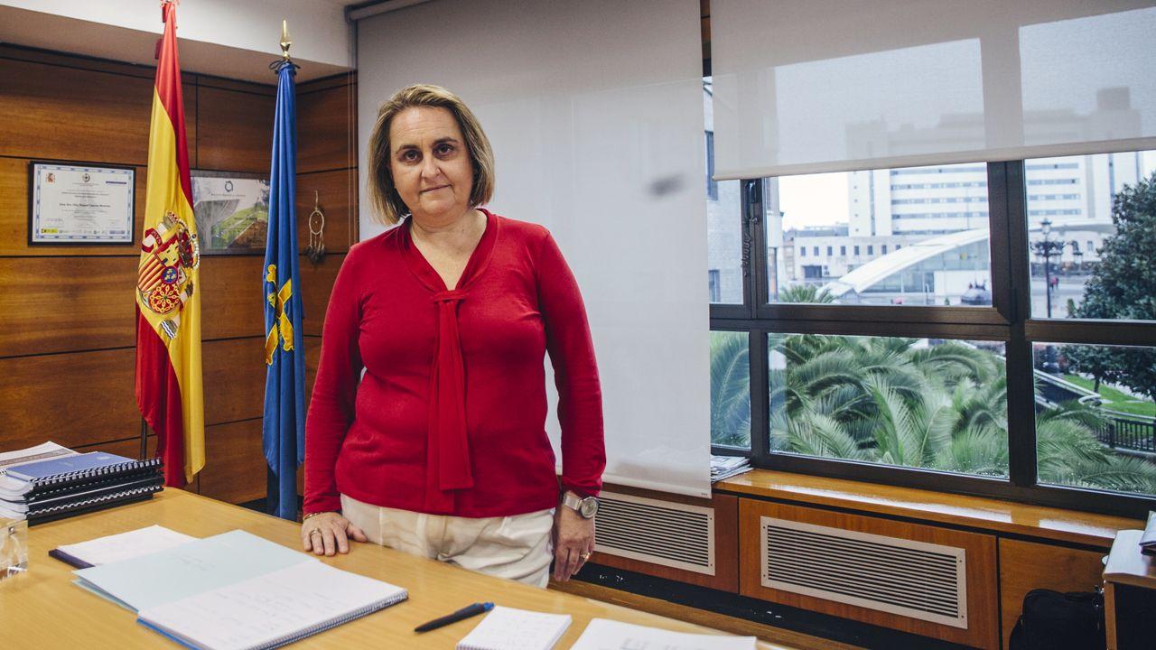 La jefa provincial de Tráfico, Raquel Casado
