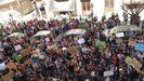Manifestación de estudiantes por el clima, frente a la Delegación del Gobierno en Baleares