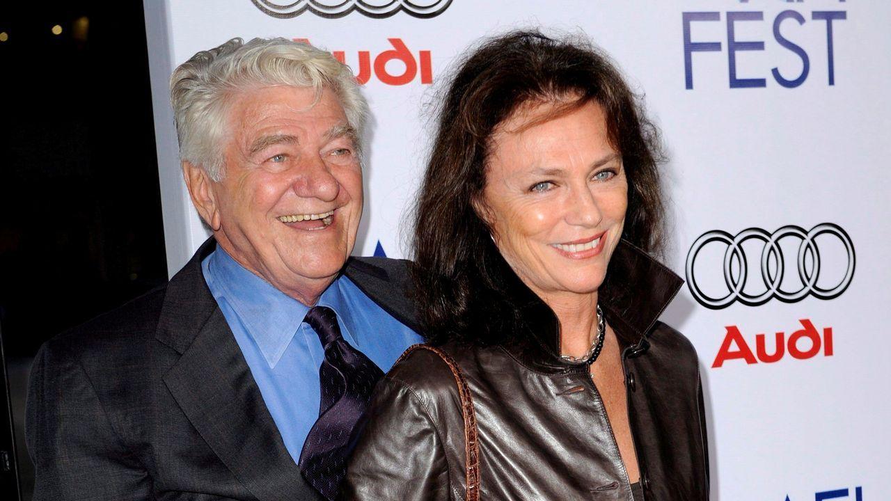 El actor Seymor Cassel en una imagen de archivo junto a la actriz Jacqueline Bisset