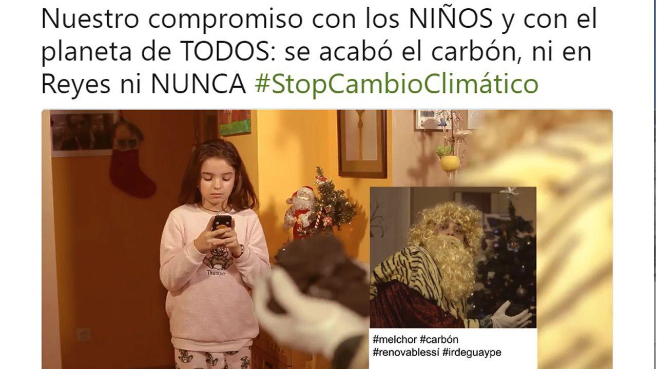 Campaña de Iberdrola contra el uso del carbón.Campaña de Iberdrola contra el uso del carbón
