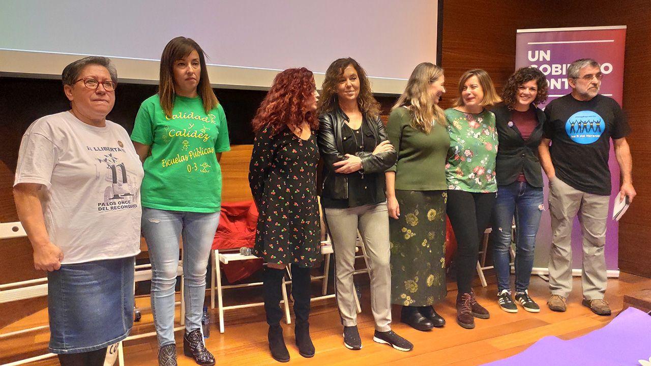 Unidas Podemos analiza la  precarización laboral  y la  criminalización de la protesta  en Oviedo