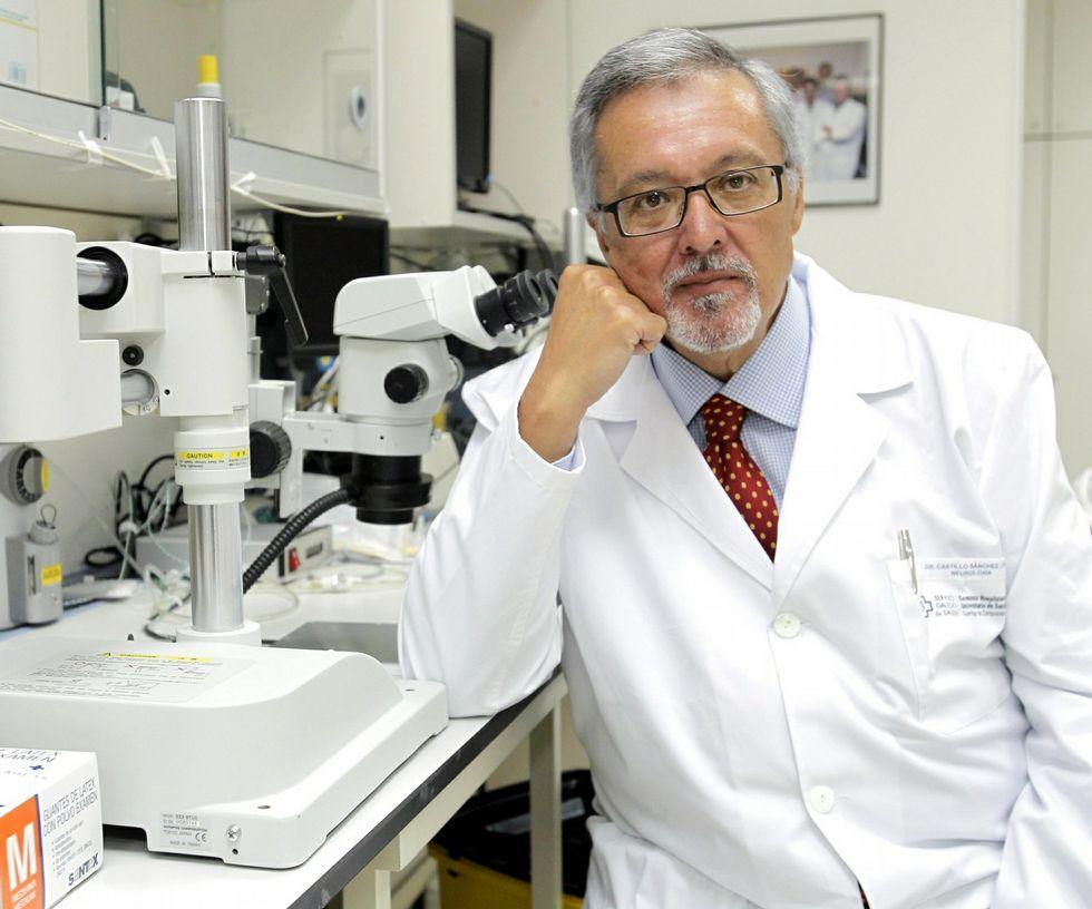 Castillo y su equipo ya iniciaron ensayos con terapia celular.