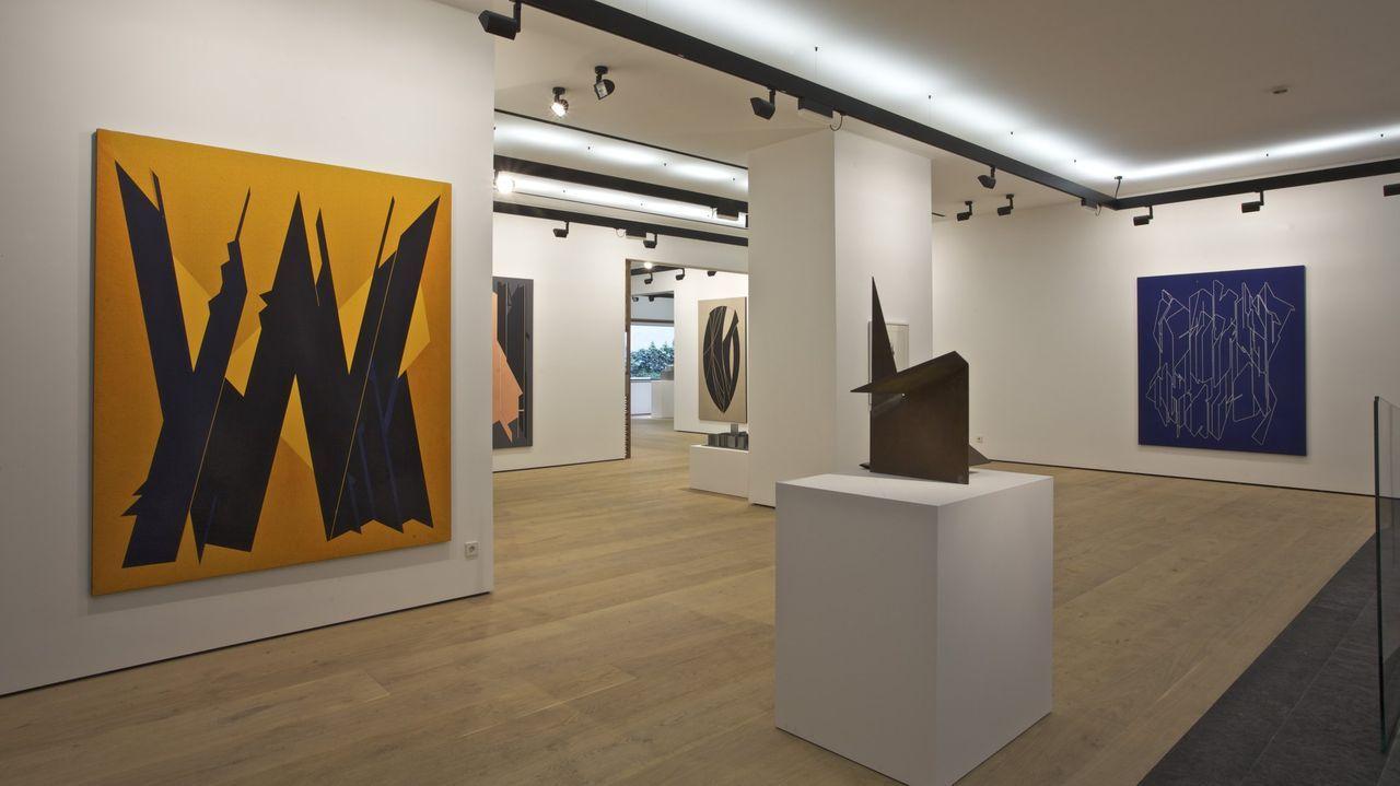 Imagen de la galería rehabilitada en Madrid por el estudio Nómada