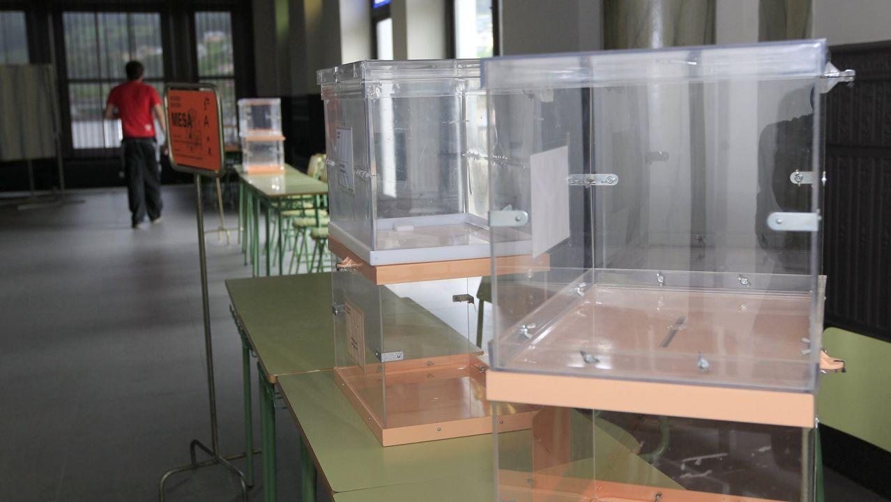 Los gallegos están llamados a las urnas el próximo 12 de julio