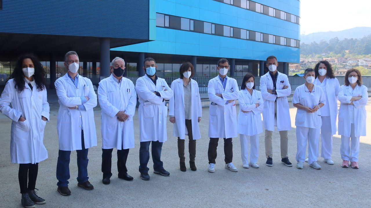Vacunación masiva en Vigo.Imagen de archivo