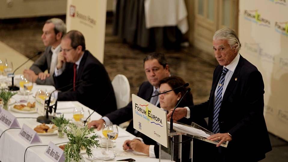 Forum Europa en A Coruña, Fernández Alvariño
