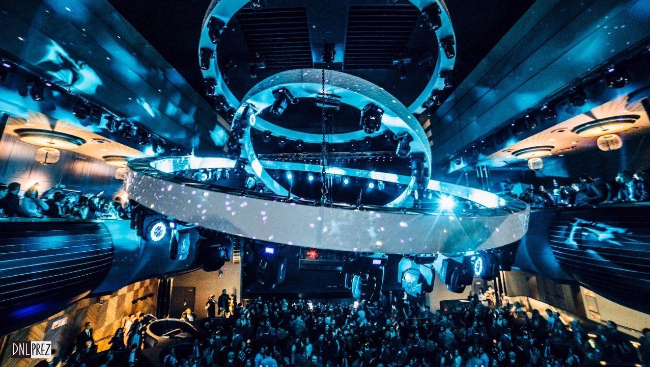 Interior de la discoteca Pelícano, en A Coruña.