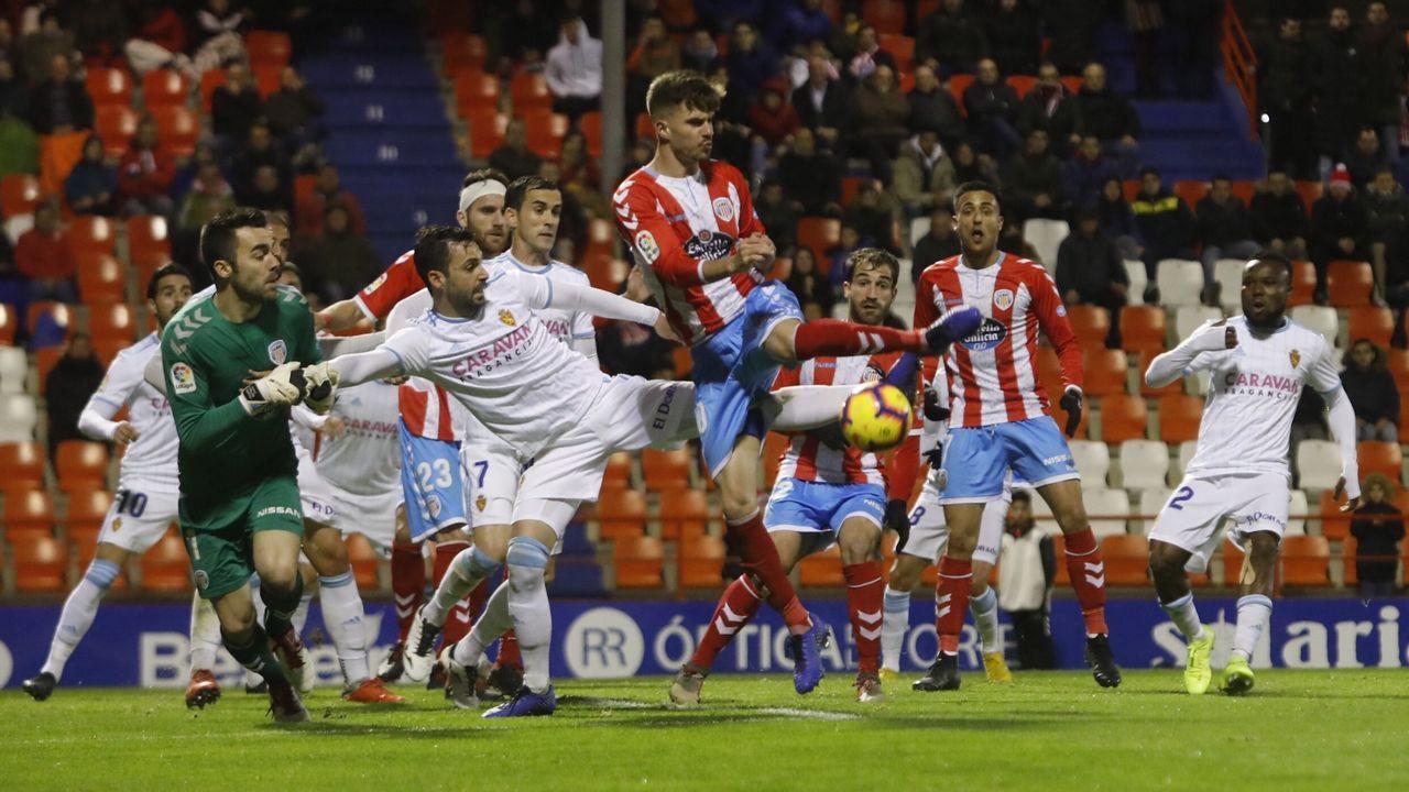 La única victoria del Zaragoza en Lugo desde el 2013 se produjo el 9 de febrero del 2019