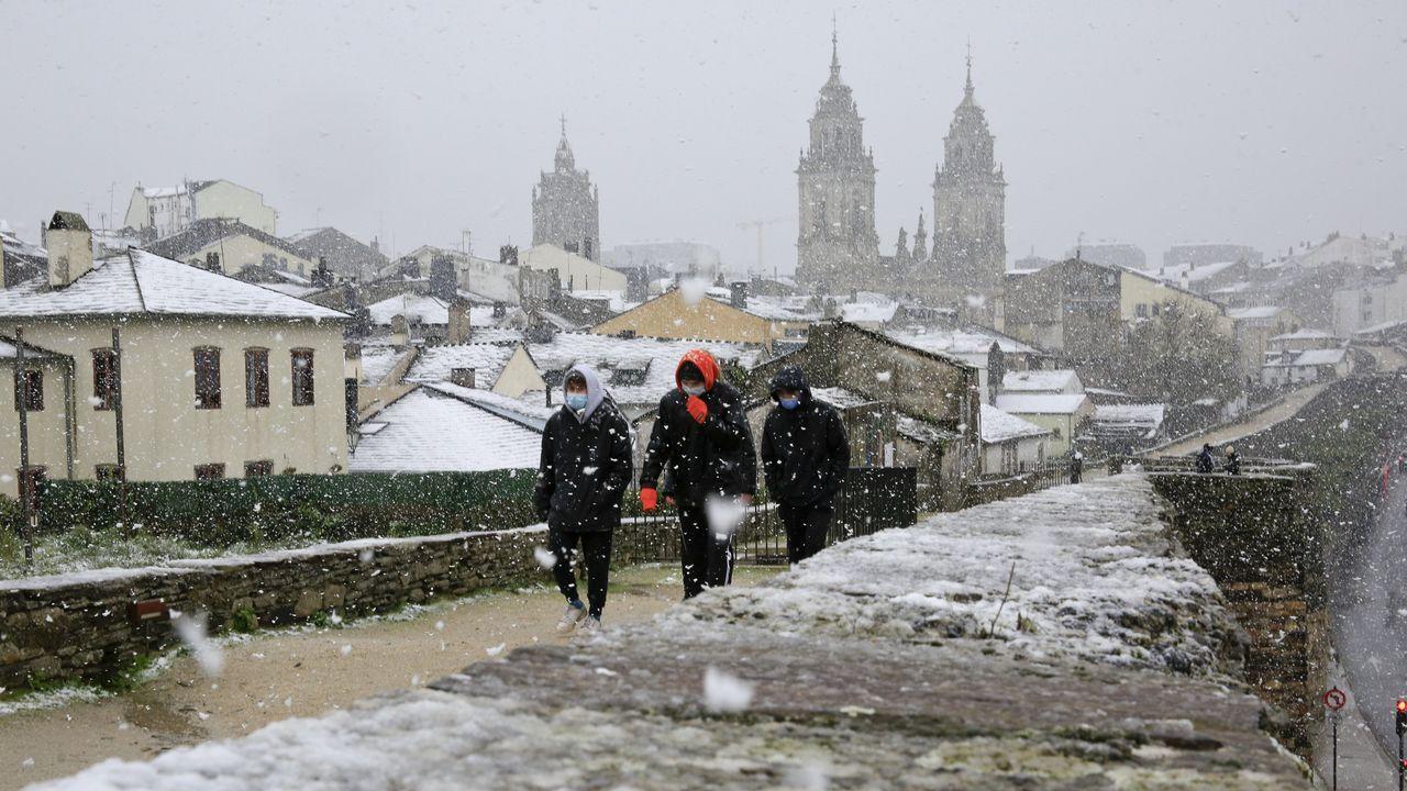 La declaración de Patrimonio de la Muralla ha disparado el número de visitantes en Lugo
