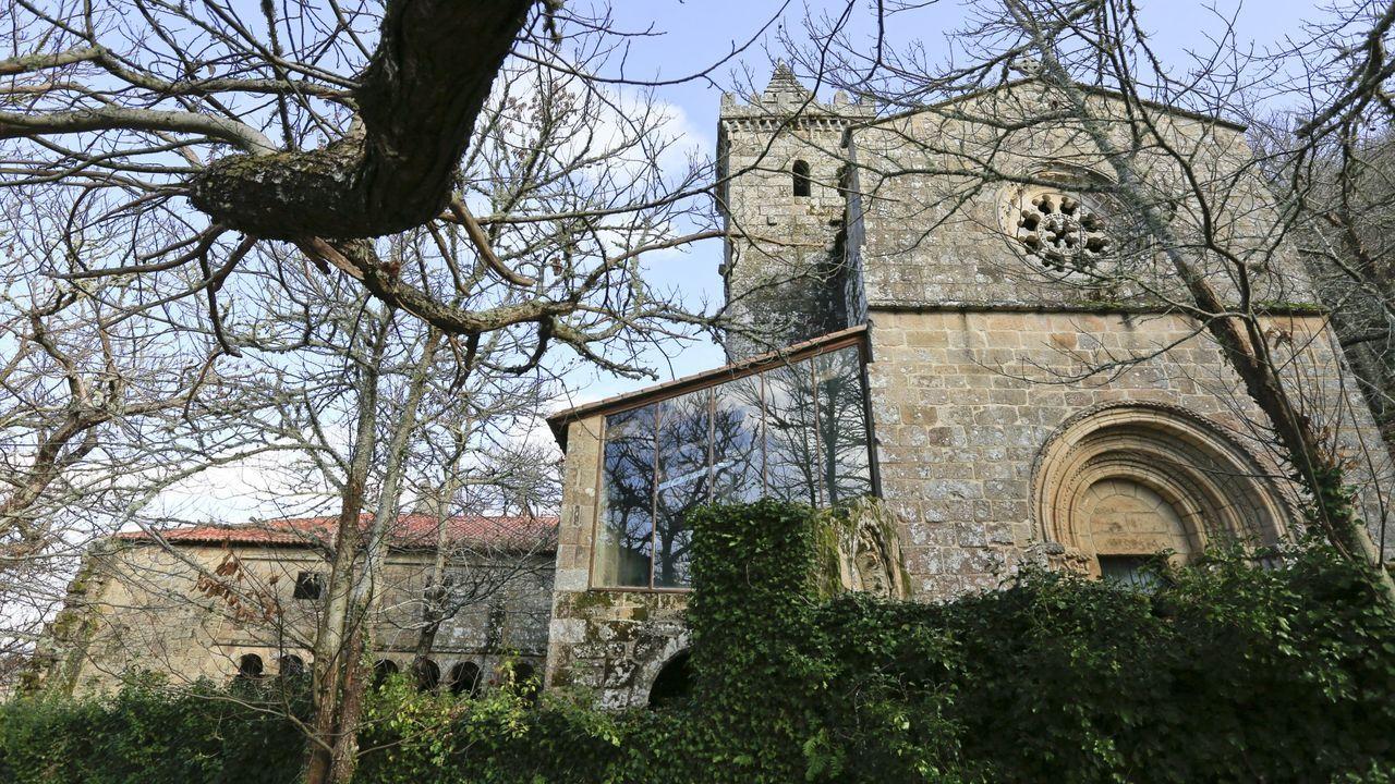 El monasterio de Santa Cristina, en Parada de Sil, es uno de los lugares que se pueden visitar con la ayuda de la nueva herramienta informática