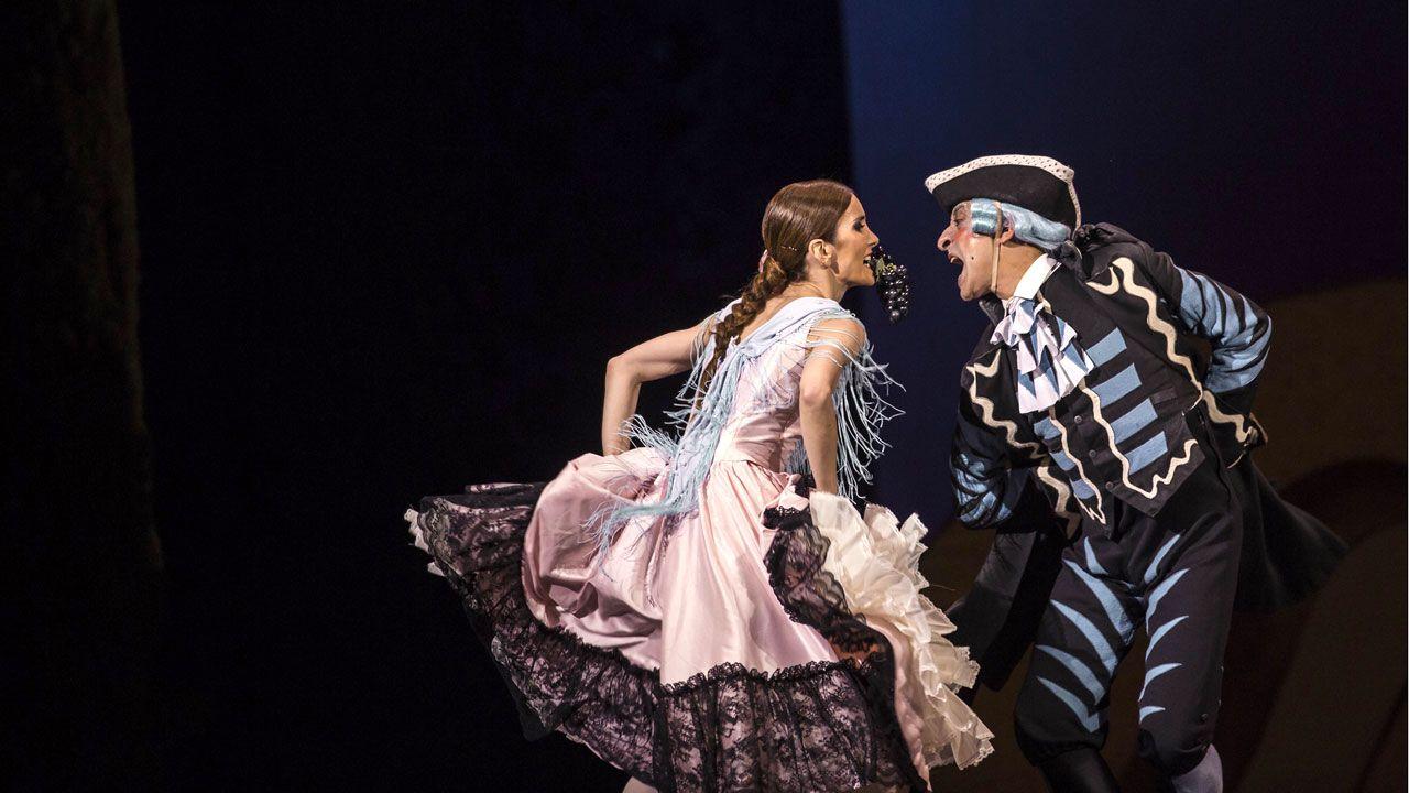 Un momento de «El sombrero de tres picos» de la Compañía Nacional de Danza
