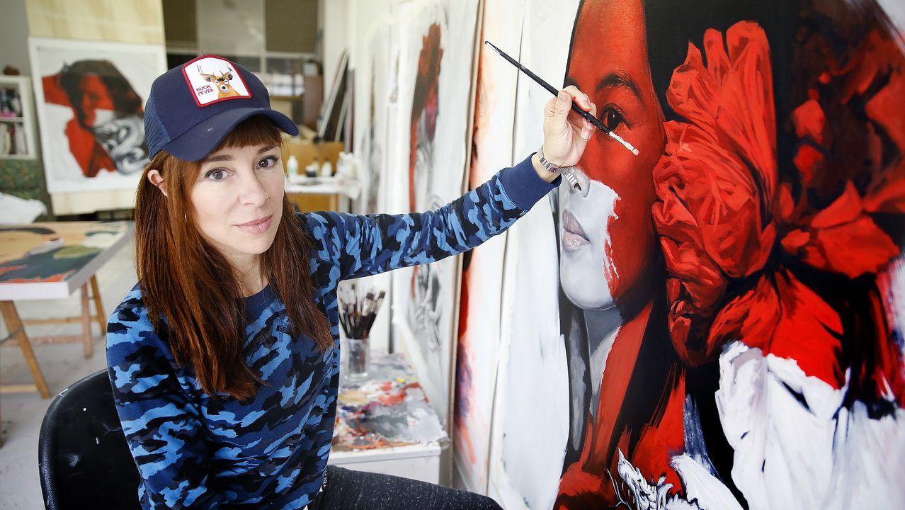 Lula Goce, una artista mural.Aida Domenech, Dulceida, participa en  El internado: Las Cumbres  con un cameo especial