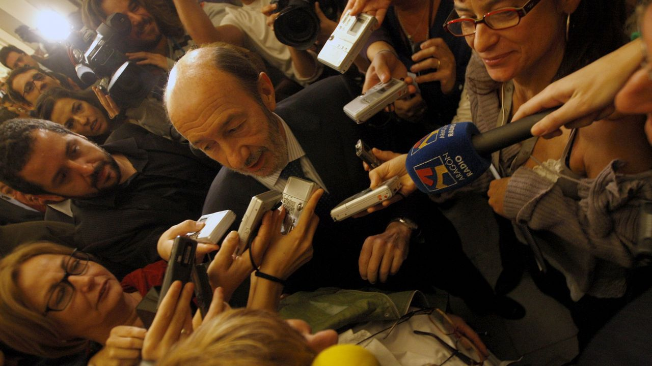 Declaración ante los medios en el 2010 tras conocerse que asumiría la vicepresidencia primera del Gobierno