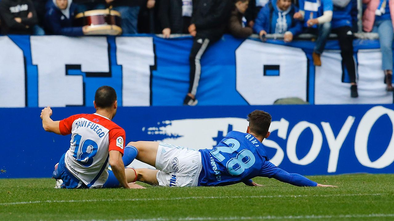 Derbi entre el Sporting y el Oviedo en el Tartiere de la temporada 2019-2020