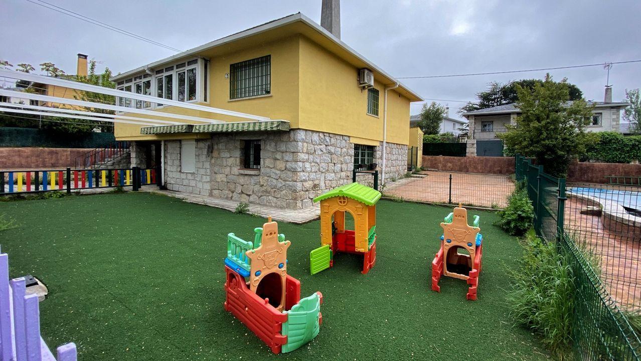 Una escuela infantil cerrada