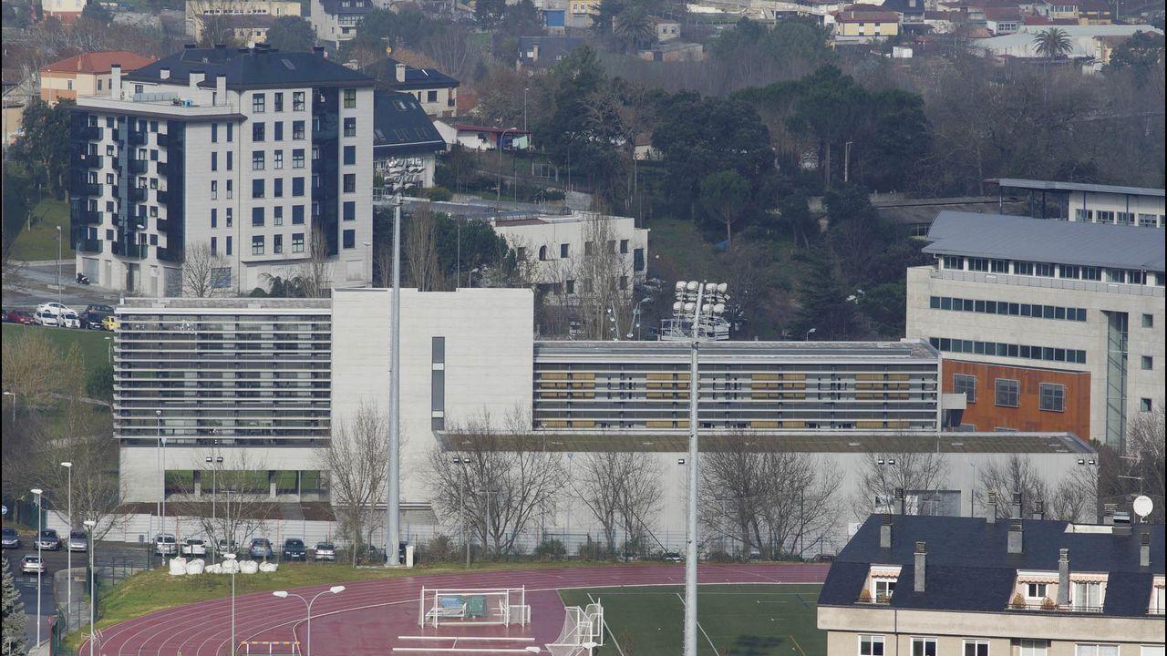 Así es el nuevo edificio del campus de Ourense.Foto de archivo de Francisco Jorquera