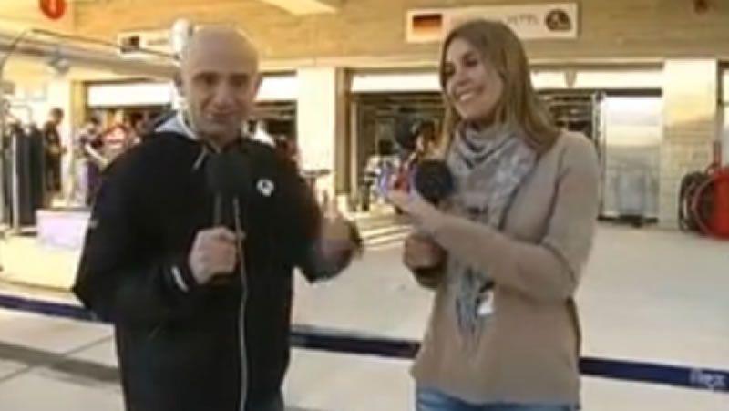 Lobato y Nira Juanco hablando bien claro.El documental incluye imágenes grabadas por Alonso.