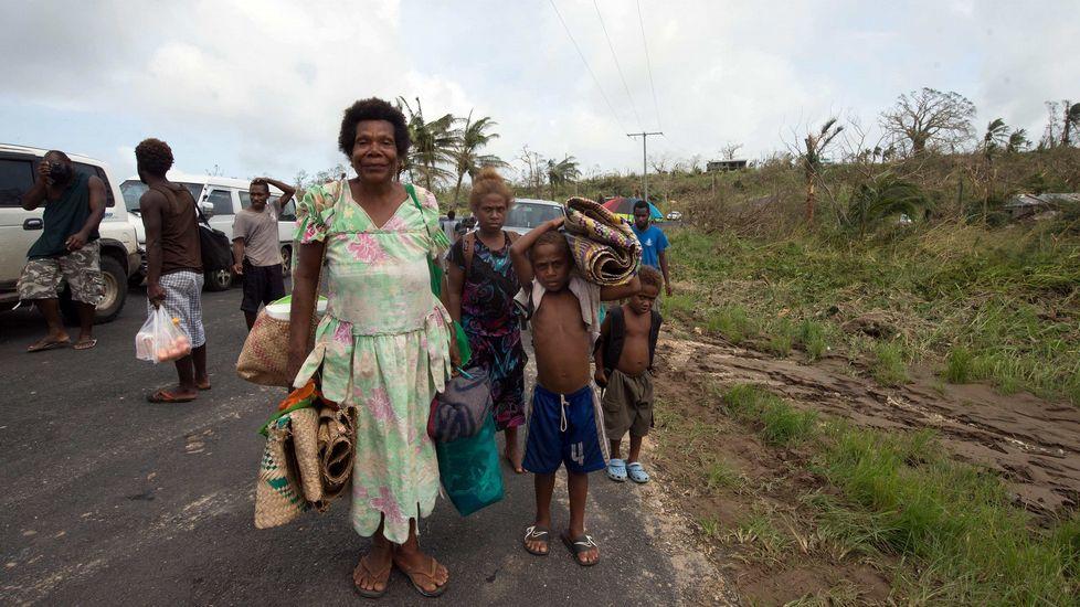 El presidente de Vanuatu, Baldwin Lonsdale, alertó hoy que el cambio climático está detrás del poder destructor del ciclón Pam.