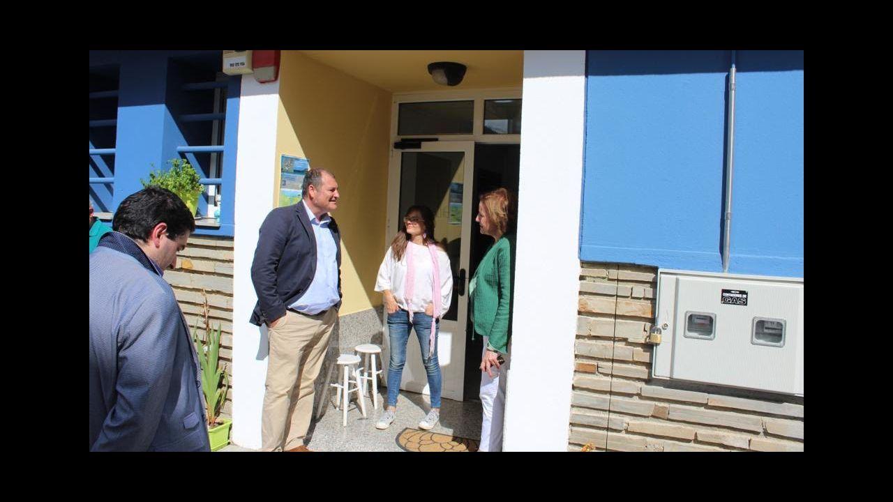 Inauguración del nuevo albergue de peregrinos en Vegadeo
