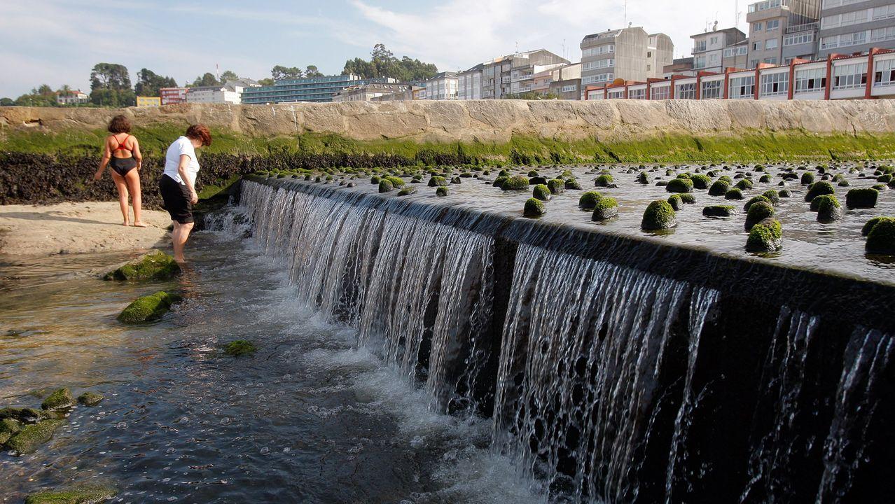 Desembocadura del río Mayor, en Sada. Imagen de archivo