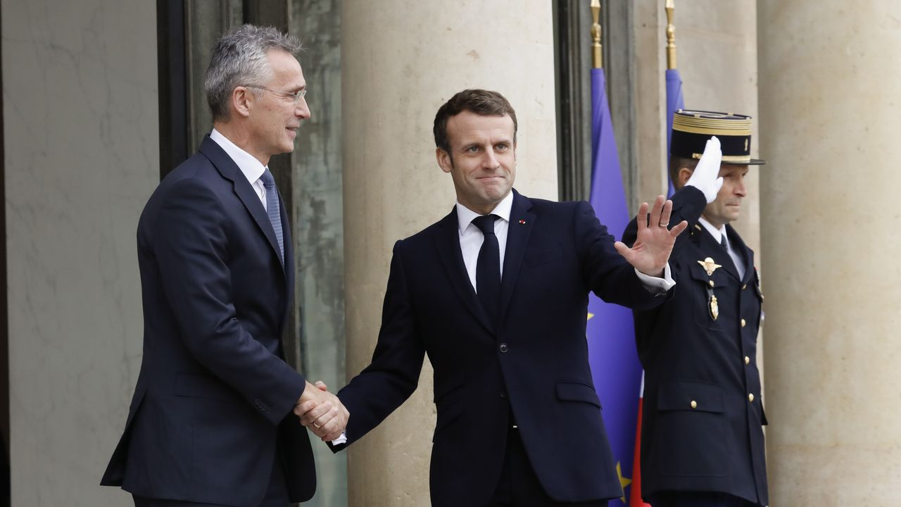 «Galicia, by the sea».Macron se reunió el jueves con el secretario general de la OTAN
